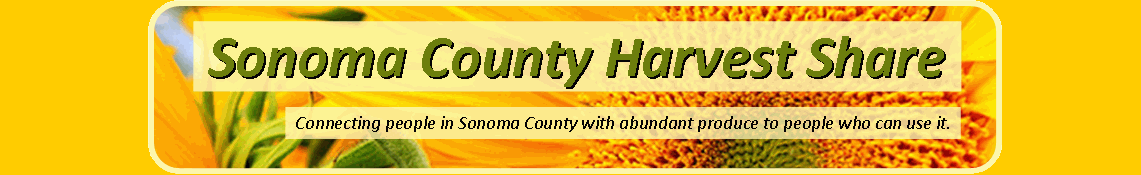 Sonoma County Food Share is live!